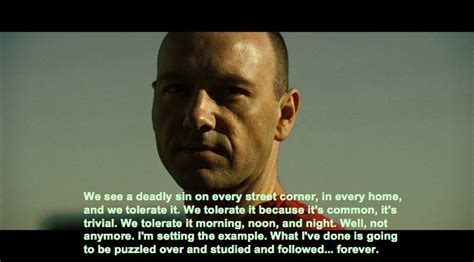 movie quotes kevin spacey image result for se7en movie quotes movies pinterest