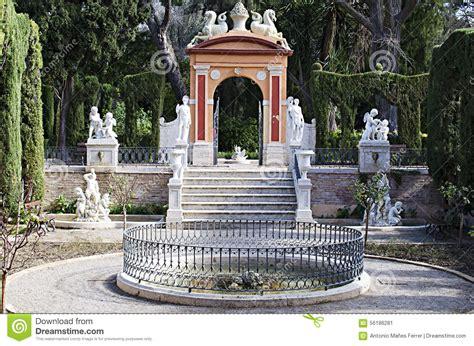 jardines en valencia valencia jardines de monforte imagen de archivo imagen