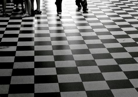 Black And White Floor Tiles by 175 When Your Footsteps Line Up Perfectly With The Black