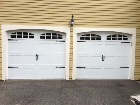 Steel Carriage House Garage Doors Steel Carriage House Garage Doors Modern Garage And Shed Boston By Mortland Overhead Door