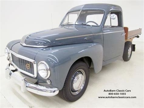 old volvo trucks for sale 1959 volvo pickup 445 26772 miles gun gray pickup
