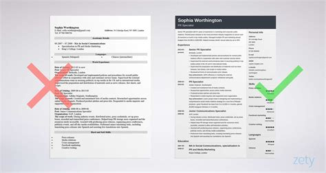 How To Right A Cv by How To Write A Cv For A In 7 Easy Steps 15 Exles