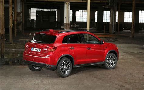 mitsubishi sports car 2018 2018 mitsubishi outlander sport rear angle car models