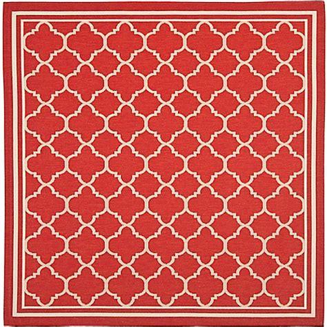 trellis outdoor rug safavieh courtyard trellis indoor outdoor rug bed bath beyond