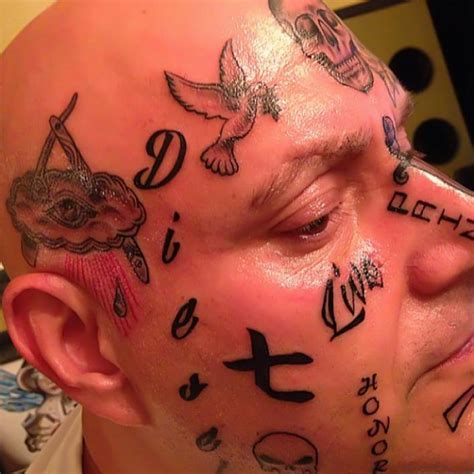 exclusive that looks painful most face tattoos on
