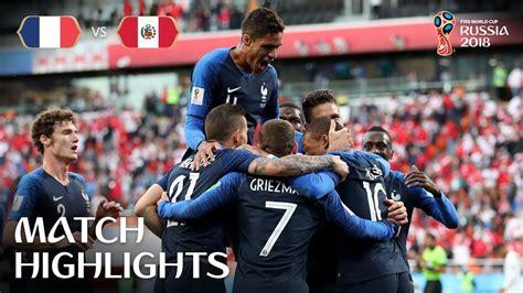 vs peru 1 0 fifa world cup 2018 match 22 all