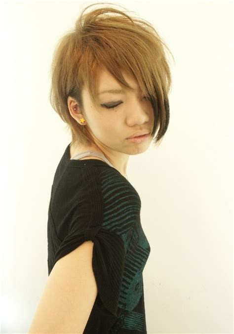 trendy short copper haircut from japan stacked short japanese pixie haircut haircuts models ideas