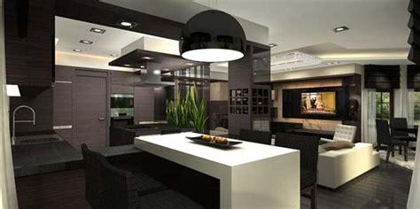 Dachwohnung Interieur Penthouse Stilvolles Wei 223 Braunes Innendesign F 252 R Dachwohnung