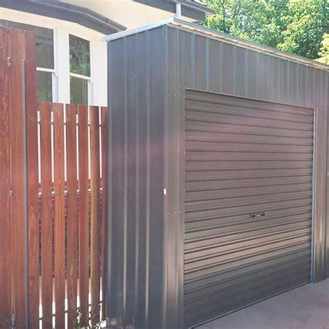 roller door storage shed steelchief melbourne sydney