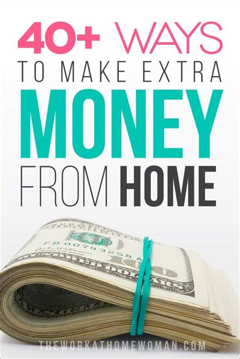 Odd Ways To Make Money Online - home money from home and from home on pinterest