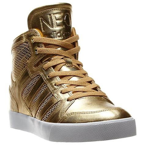adidas neo gold shoes freshness mag