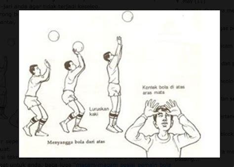 membuat makalah tentang bola voli teknik dasar permainan bola voli dan cara melakukannya