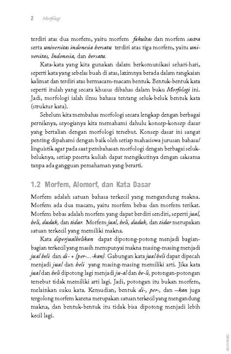 Buku Evaluasi Pembelajaran By Zaenal Arifin jual buku morfologi bentuk makna fungsi oleh prof dr