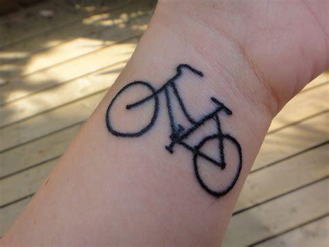 small bike tattoo bike tattoos and designs page 57