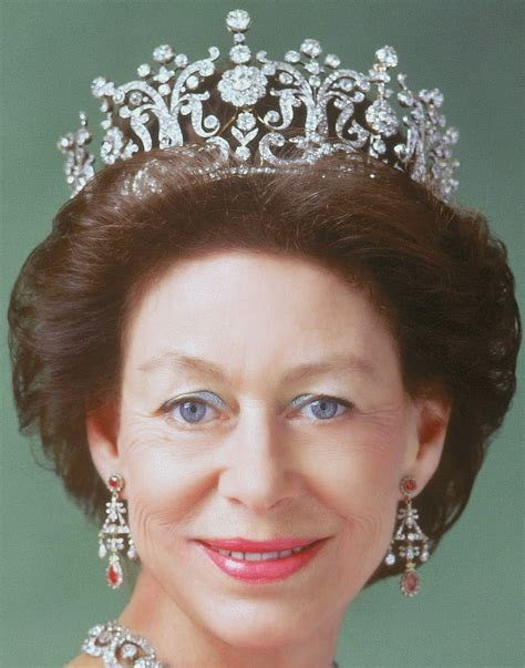 princess margarets poltimore wedding tiara tiara mania princess margaret of the united kingdom s