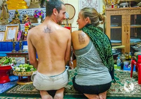 bamboo tattoo thailand cost how to get a sak yant tattoo in thailand everything you