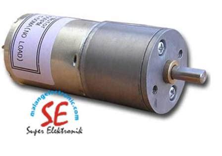 jual gearbox motor dc 295rpm motor dc torsi 10 kg murah malang electronic