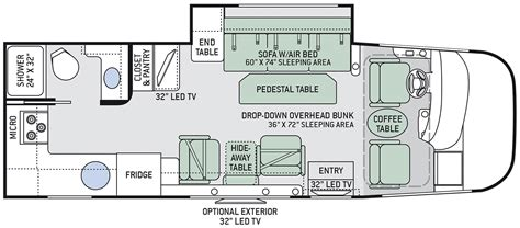 thor rv floor plans 28 thor class c rv floor plans full specs for 2016