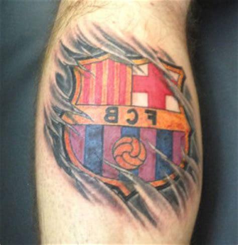 tattoo 3d barcelona tatuajes futbol club barcelona