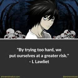 L Quotes Sayings by 12 Of The Best L Lawliet Quotes From Note Anime