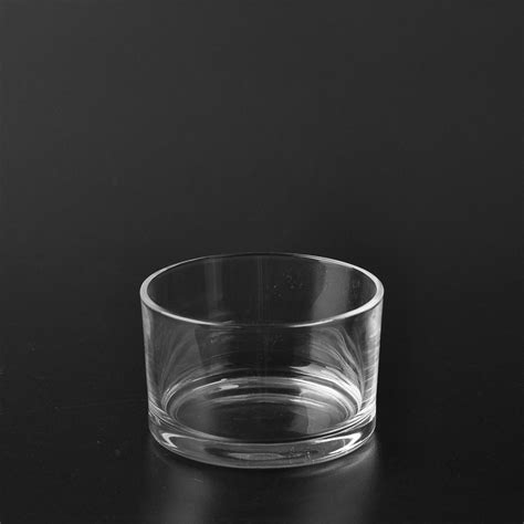 Glass Candle Tray High Quality Glass Candle Holder