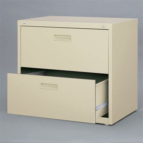 Lateral Two Drawer File Cabinet 2 Drawer Lateral File Cabinet In Putty 14954