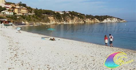 spiaggia le ghiaie spiaggia le ghiaie 400 m portoferraio isola d elba