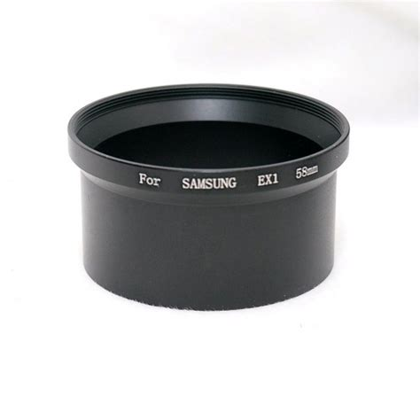 Adapter Filterstep Up Ring 58mm To 67mm 58mm filter adapter for samsung ex1 tl1500
