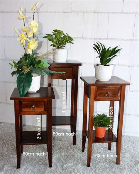 Nachttisch Massivholz Weiß by Blumentisch Blumenhocker 60 Holz Massiv Wei 195 194 Massivholz