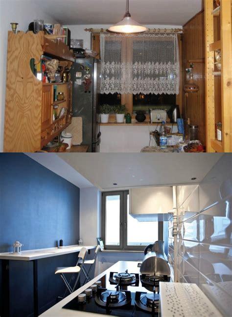 peinture r駭ovation meuble cuisine rnovation de cuisine petit prix 12 cuisines du0027archi