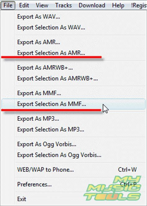format file ringtone how do i convert mp3 to amr or mmf ringtones wav to amr