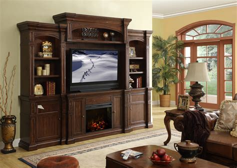 legends furniture berkshire fireplace entertainment center