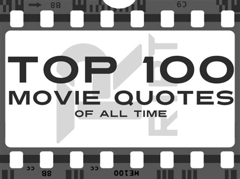 movie quotes of all time 100 greatest movie quotes of all time poster image quotes