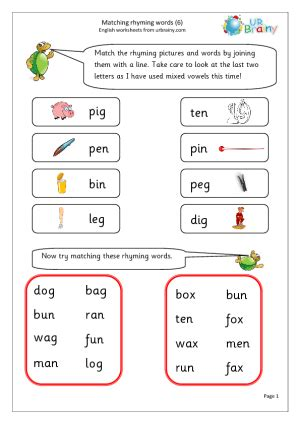year 1 worksheets english laptuoso