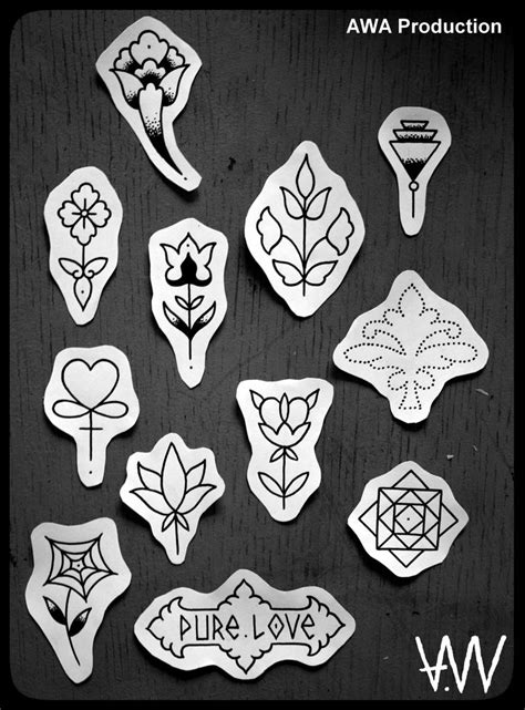 hand poke tattoo flash 11 best images about hand poke on pinterest behance nyc
