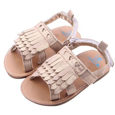 sandals toddler new 2016 summer fashion baby tassel sandals clog