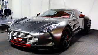 Aston Martin One 77 Ultra Aston Martin One 77 Q Series Up For The Grabs
