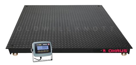 ohaus ve floor scale ve3000r ohaus vn31p5000l vn series high capacity floor scale