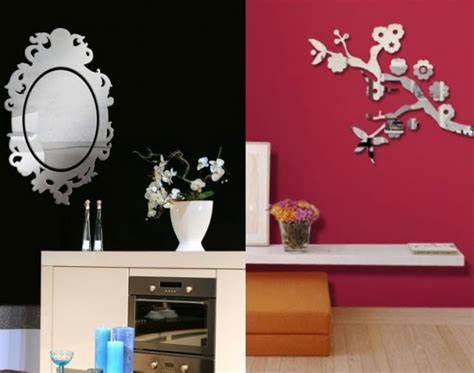 mirror mirror on the wall sticker wall mirror stickers by tonka design digsdigs