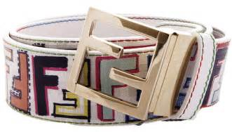 omarion in fendi multi color logo belt and christian