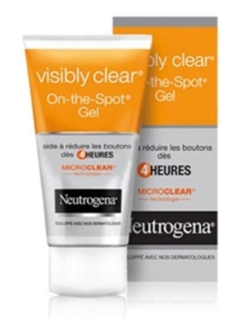 Illuminare Acne Spots Gel 15ml visibly clear gel on the spot 15 ml de neutrogena sur 1001pharmacies dans hygi 232 ne
