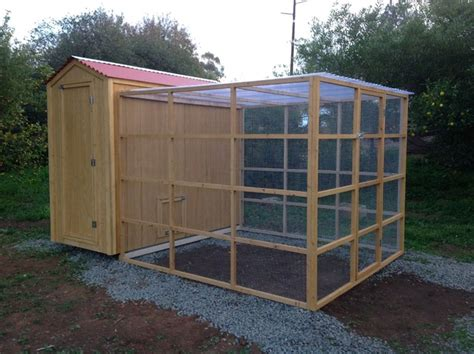 Chicken Sheds by Custom Country Shed Chicken Coop With Run Combo