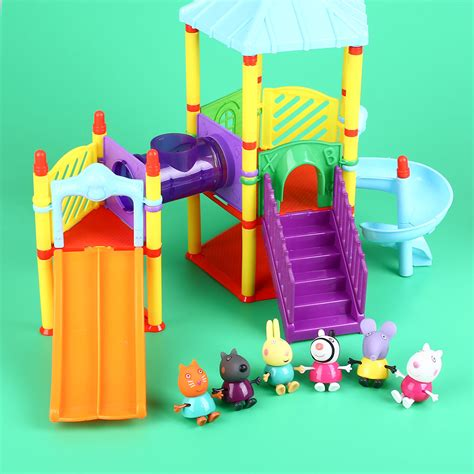 gifts for toddlers new peppa pig amusement park with friends figures