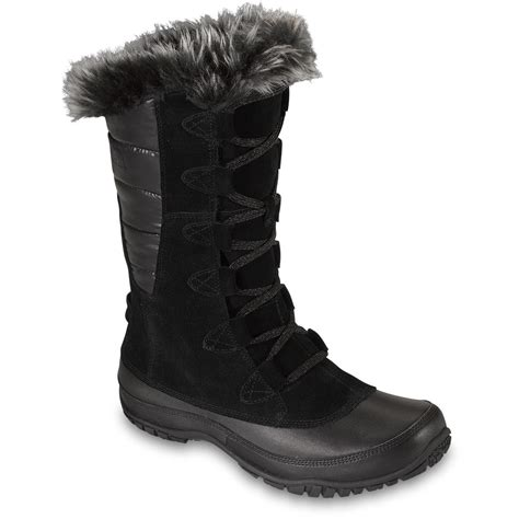 the winter boots the s nuptse purna winter boots black