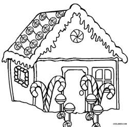 gingerbread house coloring pages free coloring pages of houses