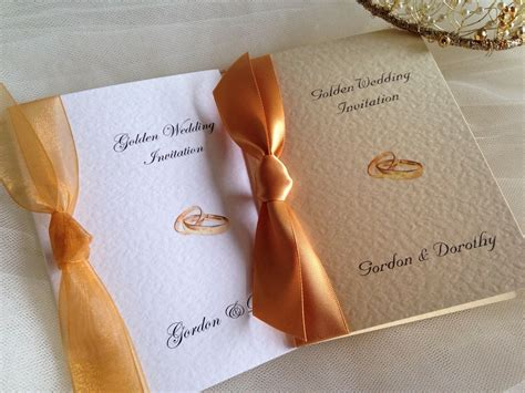 Wedding Anniversary Rings For by Rings Wedding Anniversary Invitations
