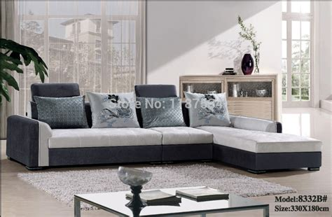 furniture living room sets prices 8332b high quality factory price home furniture living room sofa sets fabric corner sofa set in