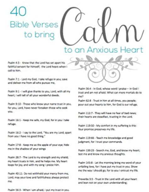 how to calm an anxious bible quotes to calm anxiety quotesgram