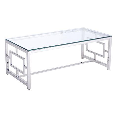 stainless steel coffee table geranium modern coffee table stainless steel