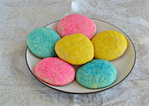 colored cookies almond sugar cookies hezzi d s books and cooks